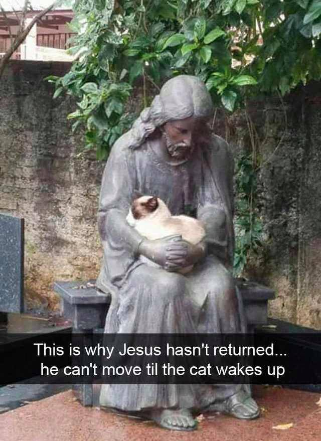 This is why Jesus hasn't returned ...