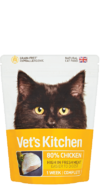 Vet's Kitchen chicken complete cat food