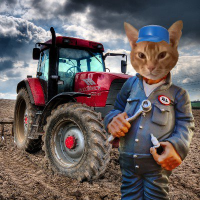 Squirt as a tractor mechanic
